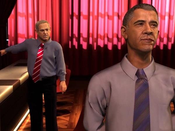 """انیمیشن """"در زیر زمین کاخ سفید چه میگذرد؟"""""""
